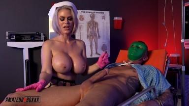 AmateurBoxxx - PSYCHO Nurse DOMINATES her Patient